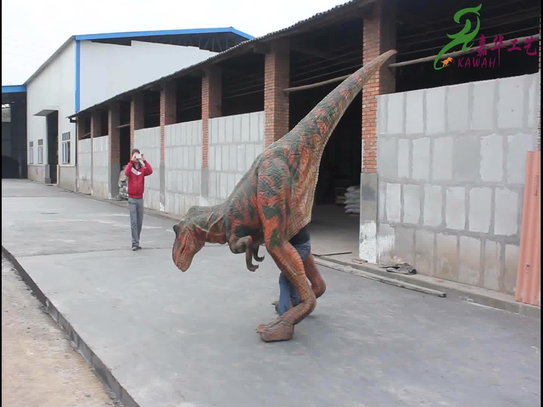 KAWAH einfache steuerung attraktive t-rex kundenspezifische dinosaurier kostüm
