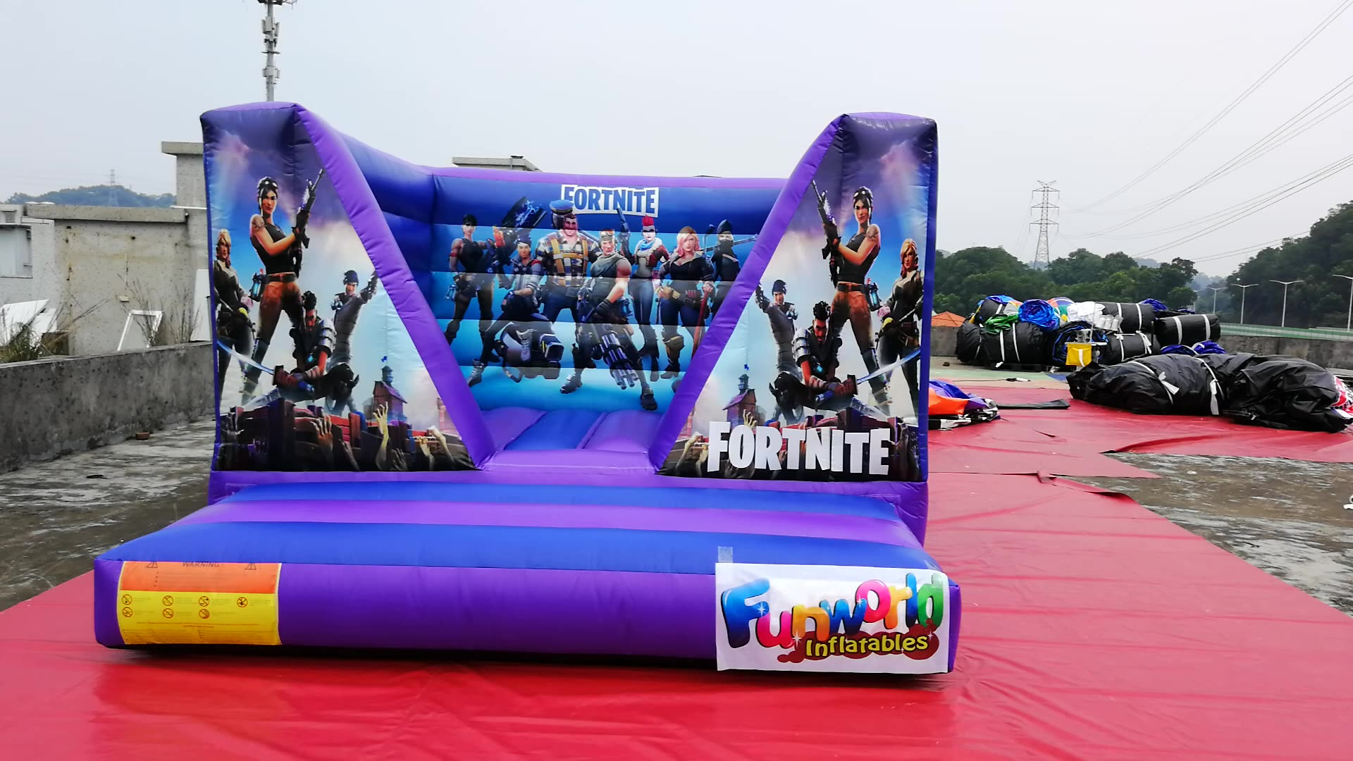 Vinyl Commercial inflatable castle bouncy castle commercial inflatable bounce