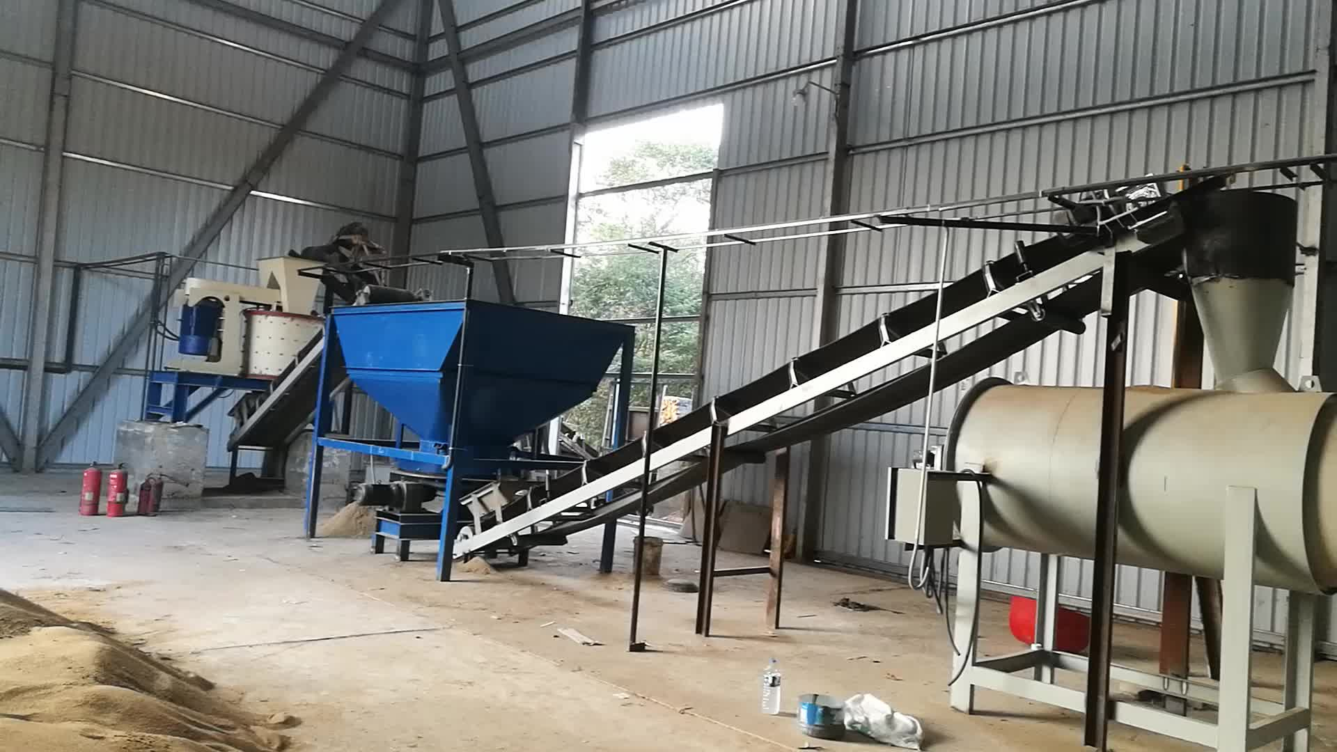 tile flexible adhesive dry mix machine/ ready made premixed plant floor tile adhesive production line