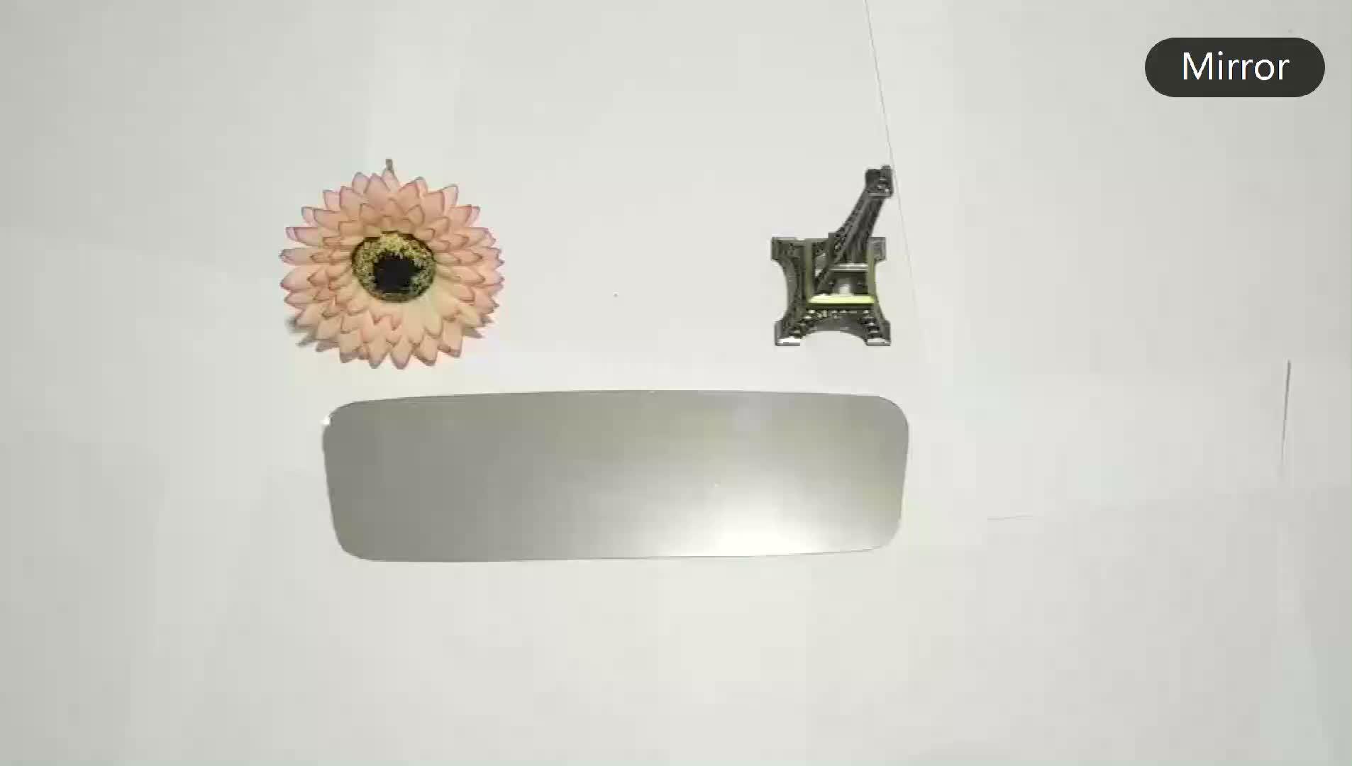 1.5mm 1.8mm 2.7mm 3mm Specchio di Vetro Float In Lamiera di Alluminio A Specchio di Vetro Float