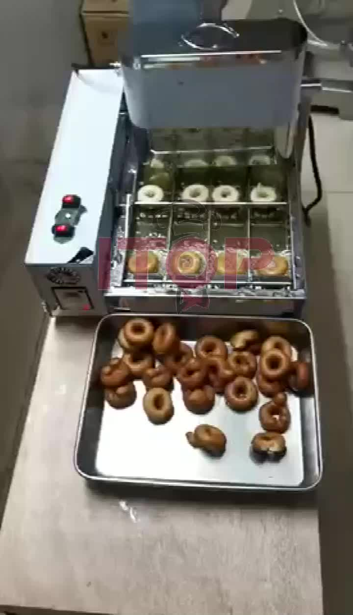 Commercial Automatic Donut Machine Mini Donut Maker Donuts Hole Making Machine Donut Fryer with CE