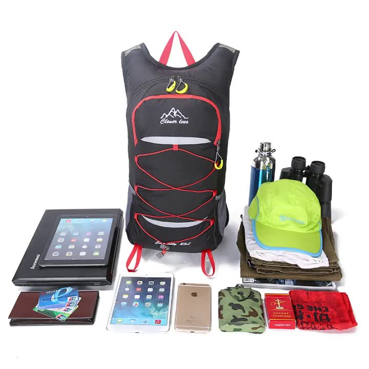 25L Outdoor Hiking Bike Riding Backpack MotorcycleTravel Pack