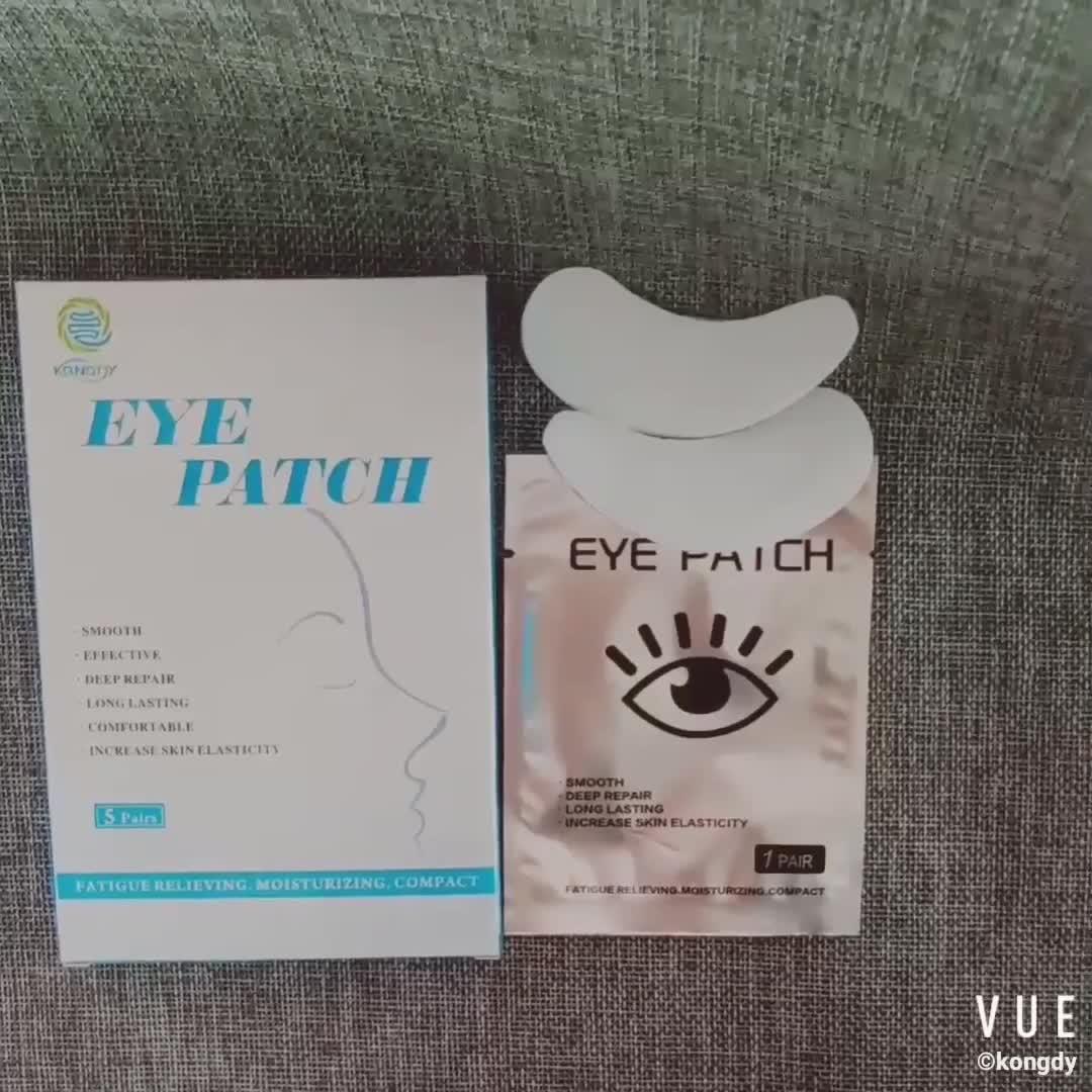 2019 hot nuovi prodotti di design di patch gel oftalmico da fornitore di oro