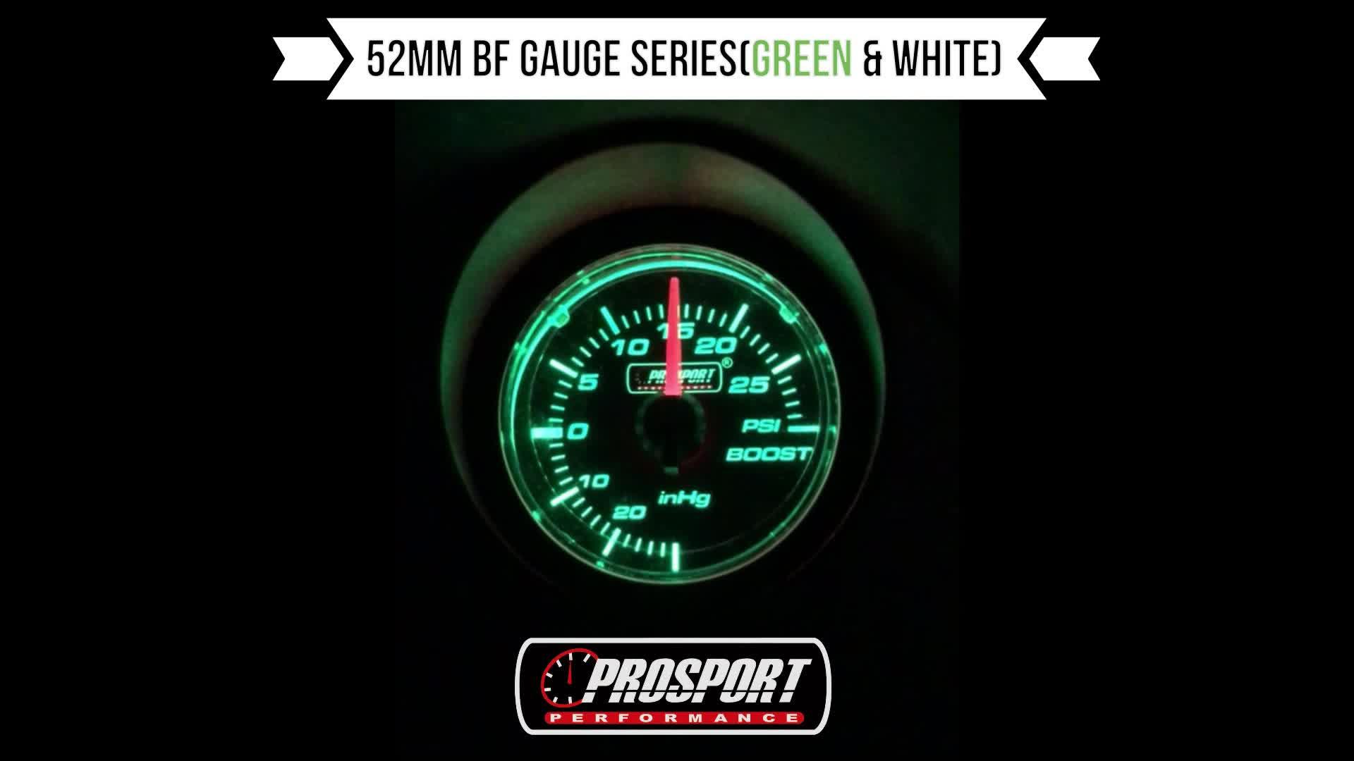52mm Tốt Giá Phổ Auto Meter Nhiệt Độ Nước Đo