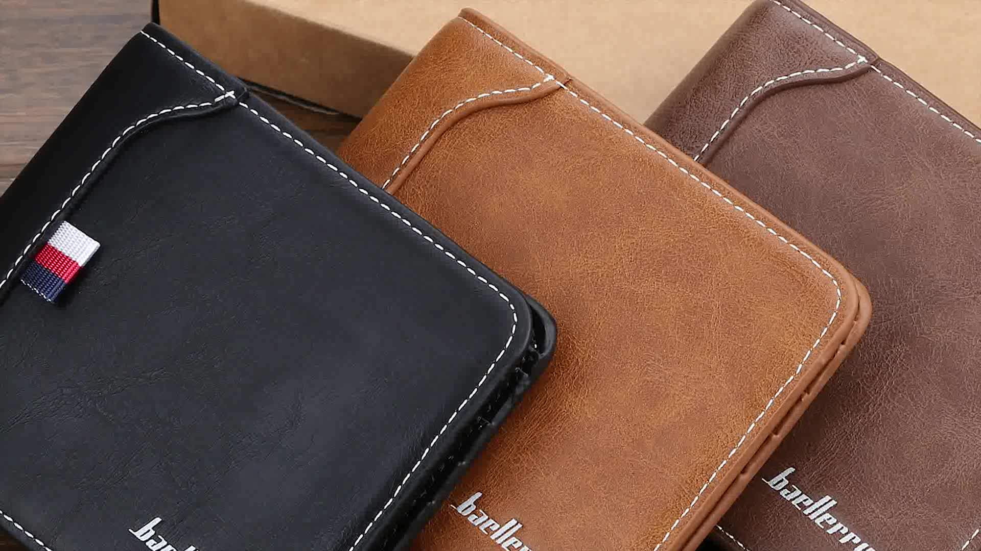 Baellerry 2019 New Hot Sell Well Short Section Wallet For Man,Male Good Quality Coin Purse Wholesale