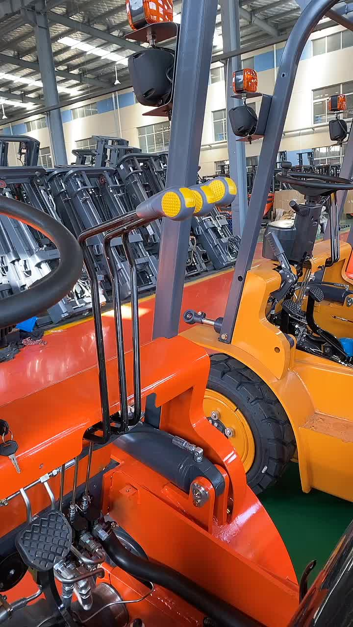 HUAHE HH30Z-GL 3ton manual diesel forklift for sale