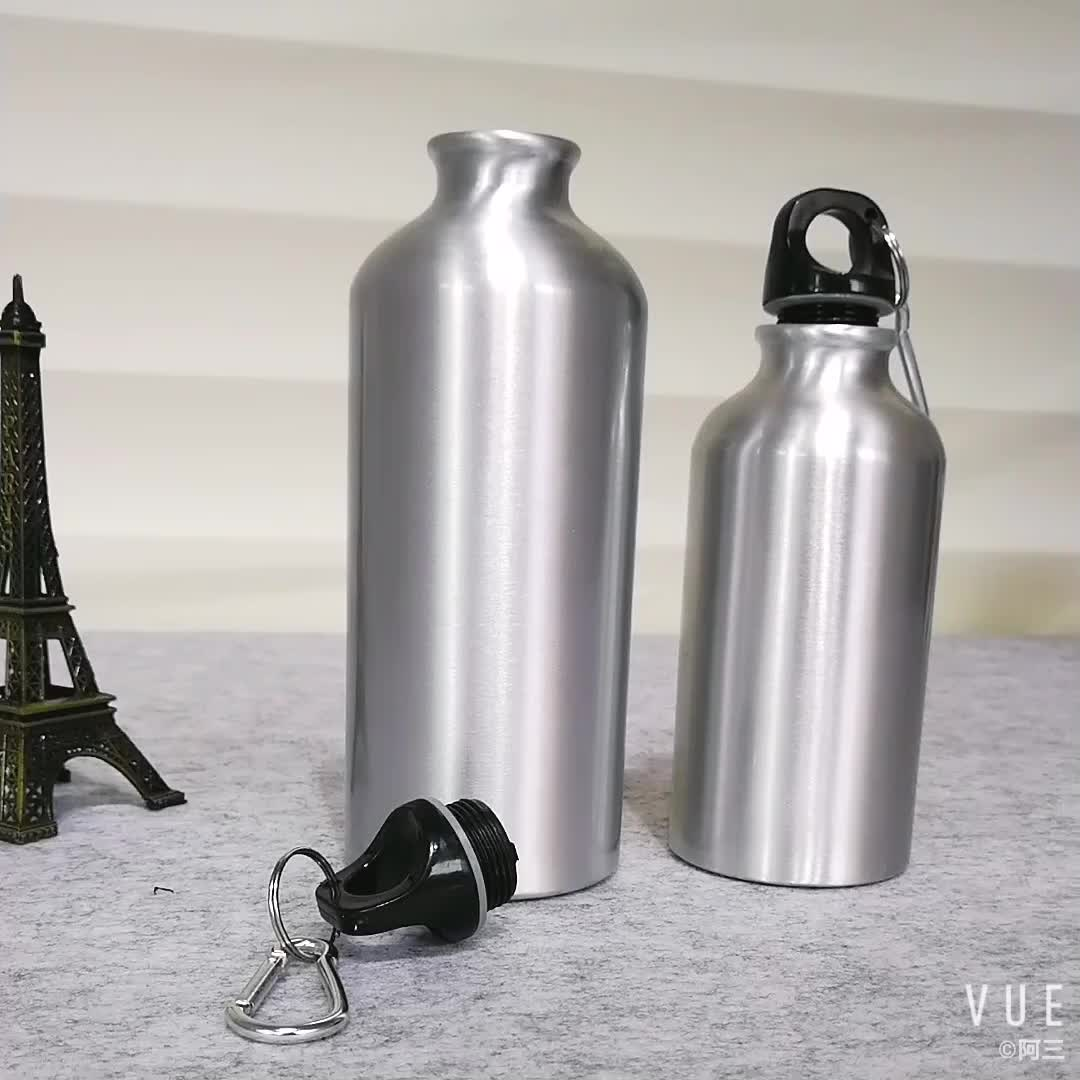 Free Sample Wholesale 16oz Aluminum Bottle Stainless Beer Bottle Bicycle  Water Bottle Sports