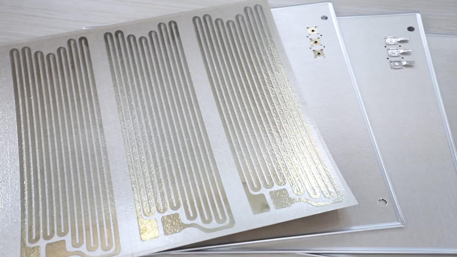 Acessórios de aparelhos eléctricos de aquecimento de mica filme com Formas e tamanhos personalizados