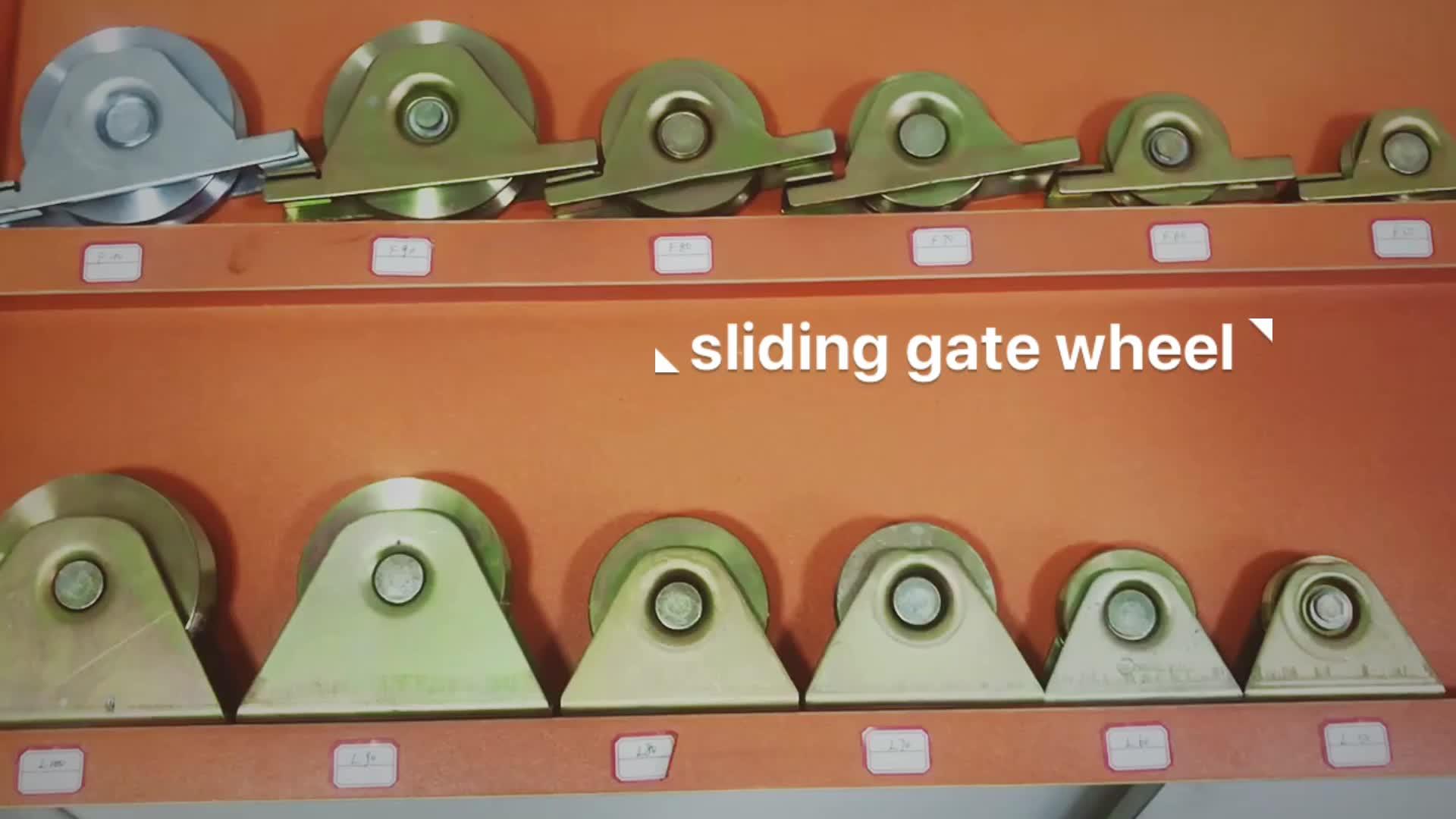 La industria precio de fábrica de la puerta corredera de la rueda de nylon