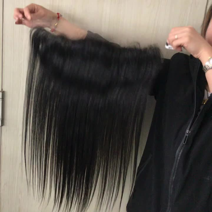 Top Quality Virgin Cuticle Aligned Hair Super Fine Swiss Lace 13x4 13x6 HD Lace Frontal with Baby Hair