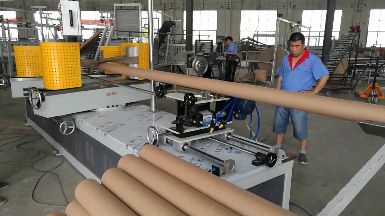 Venta caliente de papel máquina de tubo tipo de producto de papel de la máquina de bobinado de tubo que hace la máquina
