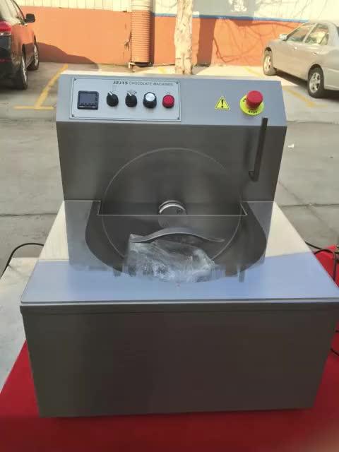 אישור CE חם שוקולד מנפק קטן שוקולד הרפיה ביצוע מכונת