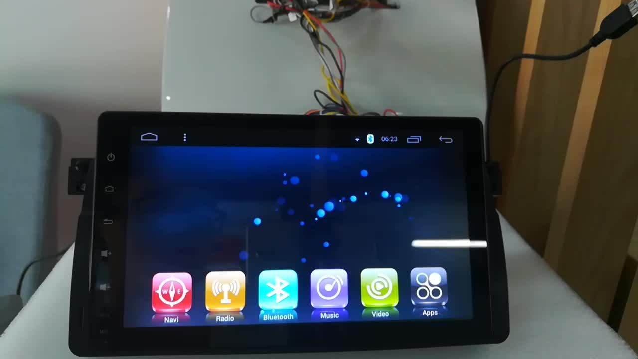 Car Audio Cina per BMW E-46 Car Stereo Touch Screen Con Il Software di Download