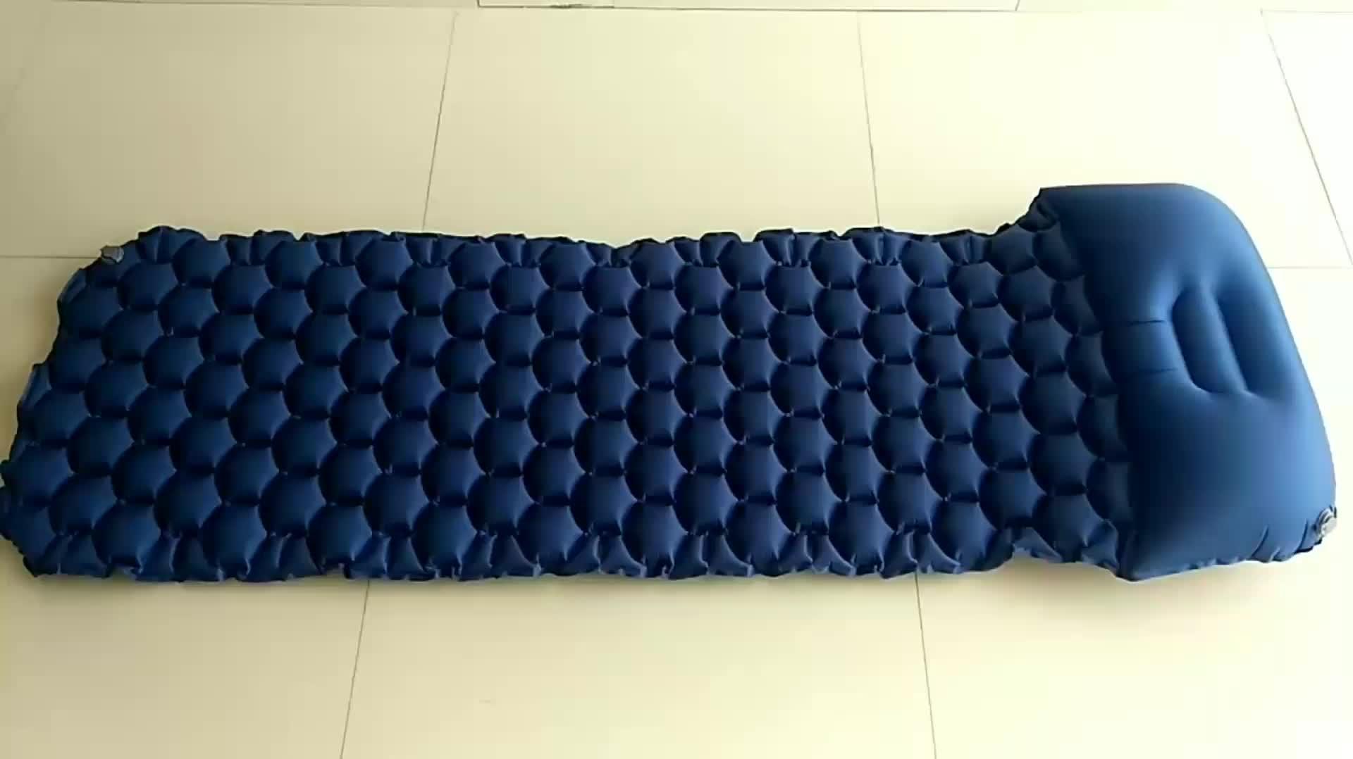 캠핑 자 Mat-경량 air 자 pad, 초경량 & Compact & 부 풀릴 수 Air 매트리스 와 베개