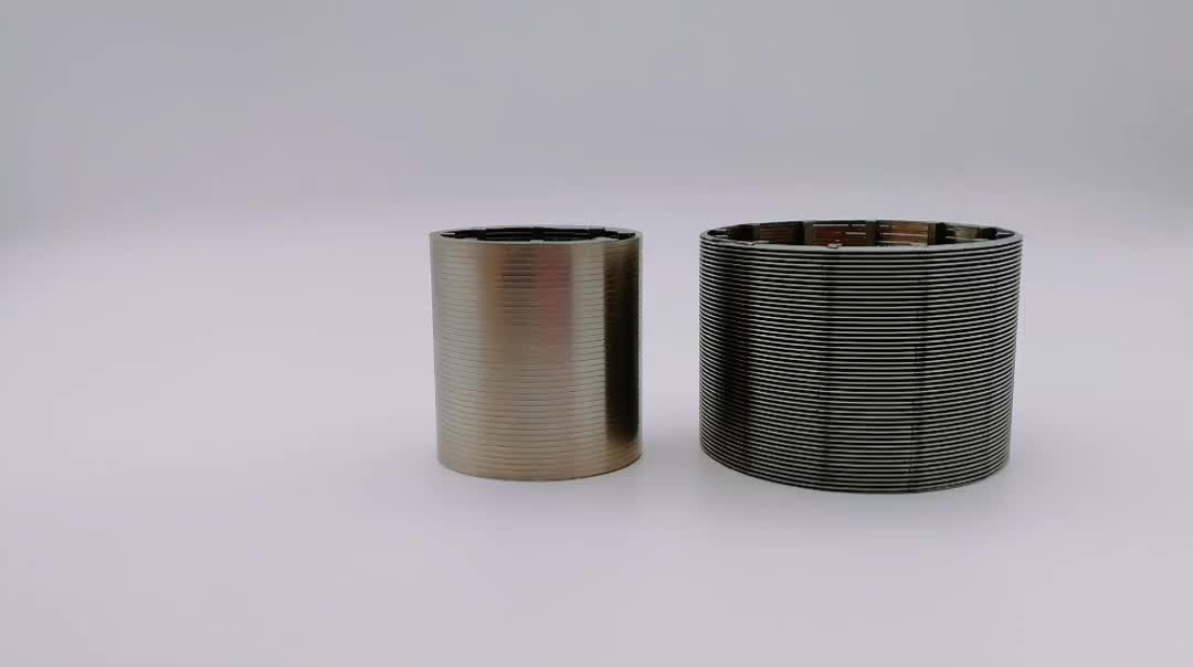 Stainless steel Johnson water Well Wire Wrap Screen Pipe