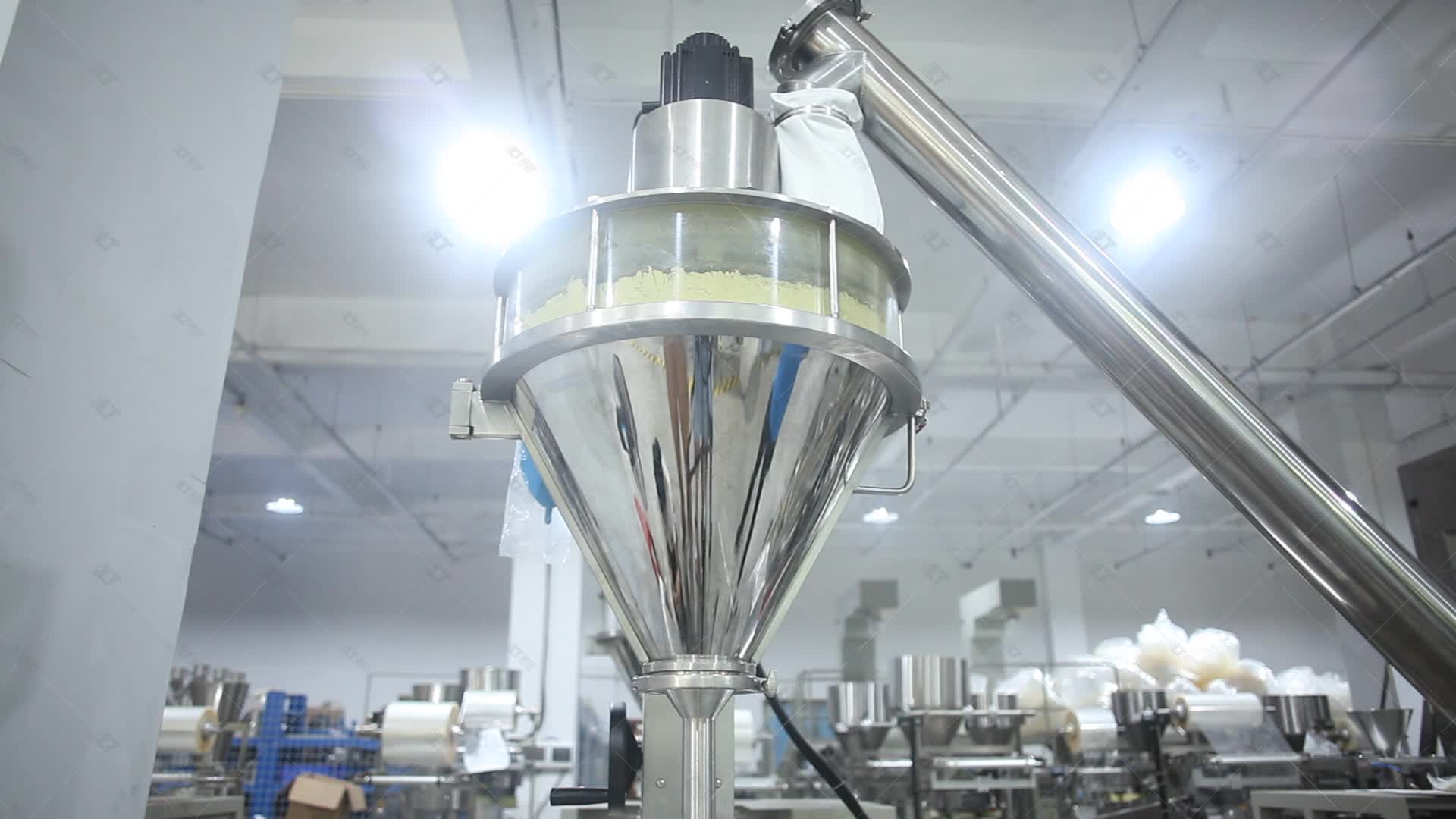 LT-720 Fully Automatic Auger Filler 1kg 2kg 3kg Sugar Packing Machine