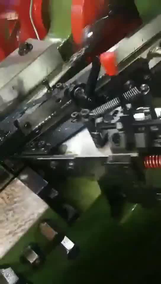 자동 고속 표준 건식 벽체 나사 볼트 스레드 압연 기계