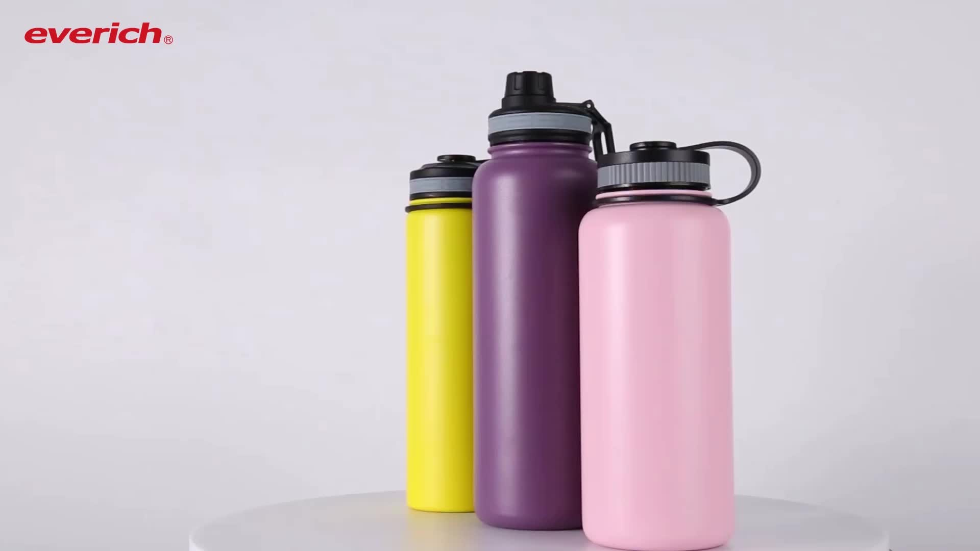32oz 304 stainless steel double wall water bottle thermos flask shaker bottle