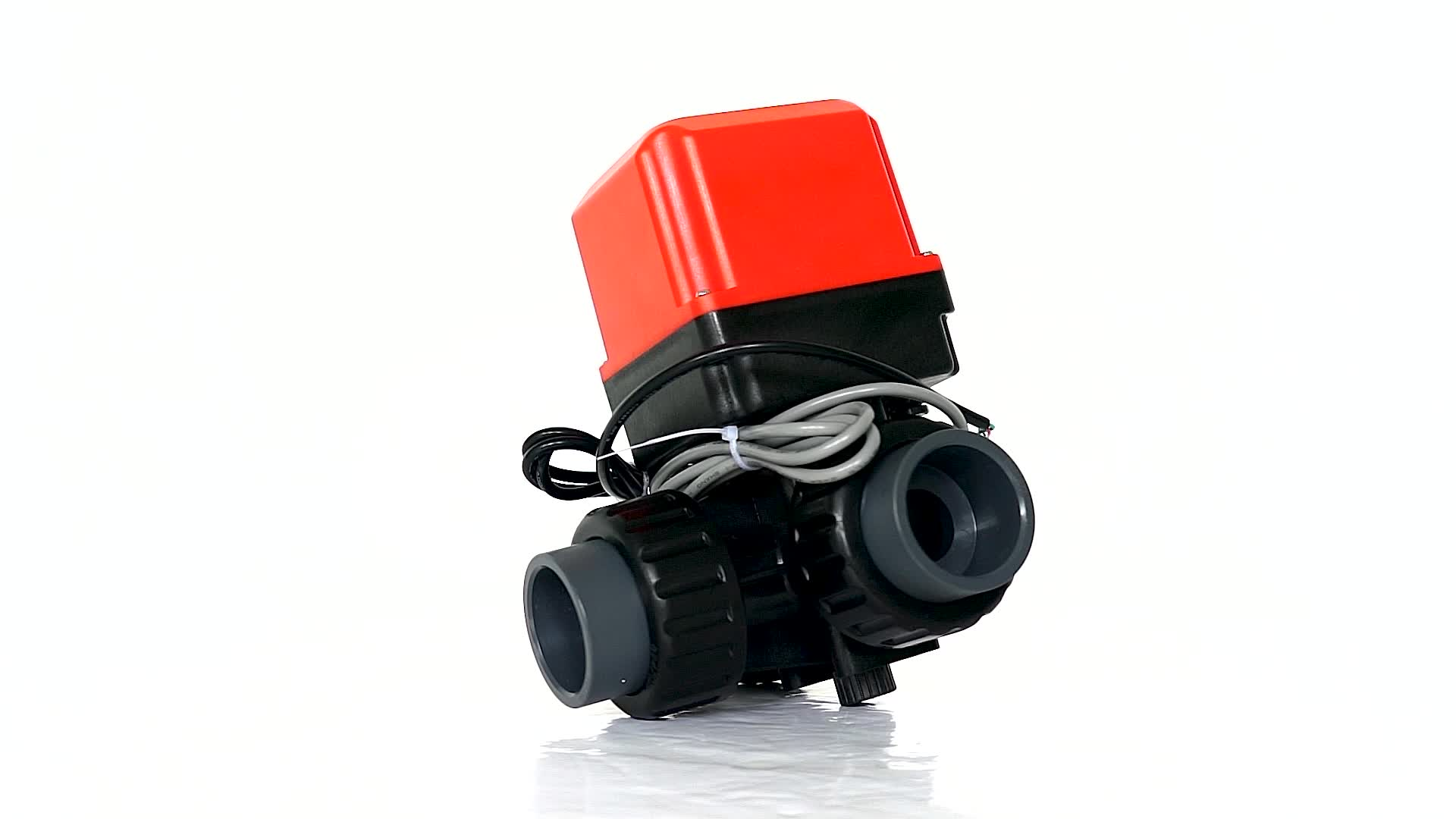 "Hastelloy Kök Anti-Korozyon DN32 G11/4 ""AC220V 3 yollu Elektrik Motoru Aktüatör Motorlu Otomatik Anahtarlama vana"
