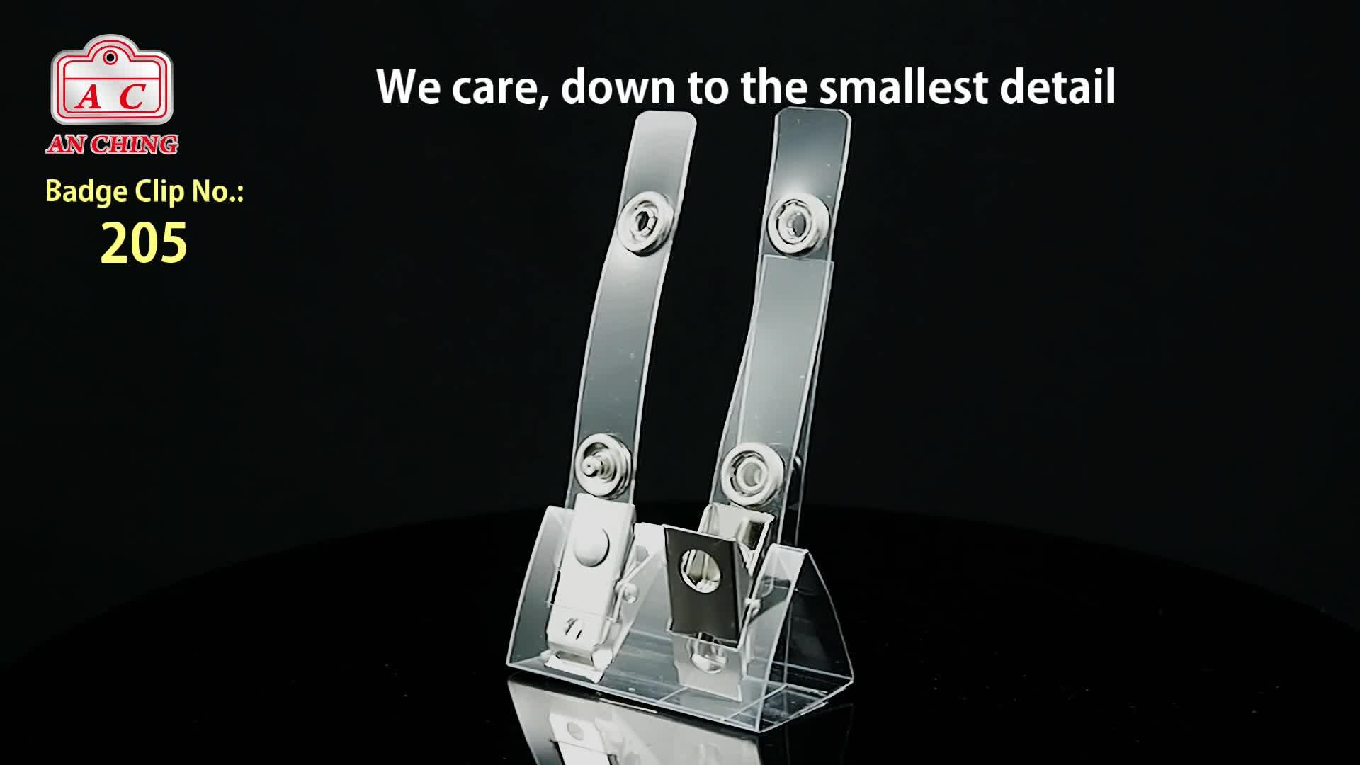 Hoge Kwaliteit Id-kaart Metalen Naam Badge Houder Clip