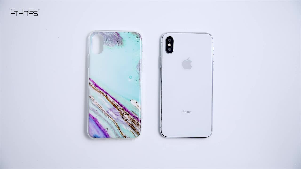 2019 New Design IMD Customized Marble Pattern TPU Soft Cover Accessories Cell Phone Case For iPhone 7/8