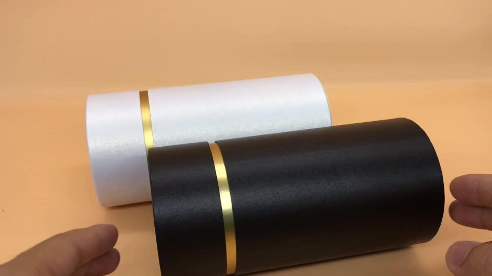 Hot Selling Promotion Custom Cosmetics Packaging Paper Tube Box perfume