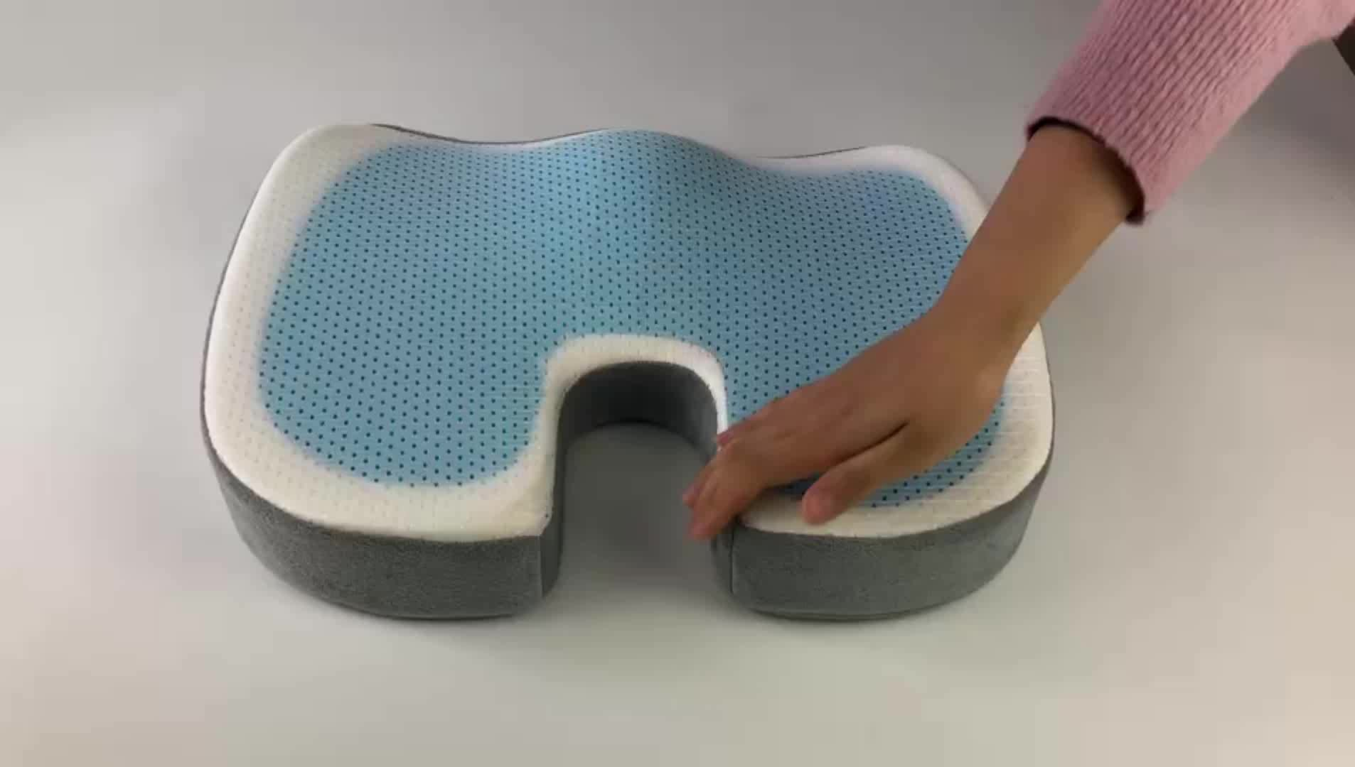Gel Pads Seat Cushion for Sciatica, Chronic Back, and Tailbone Pain