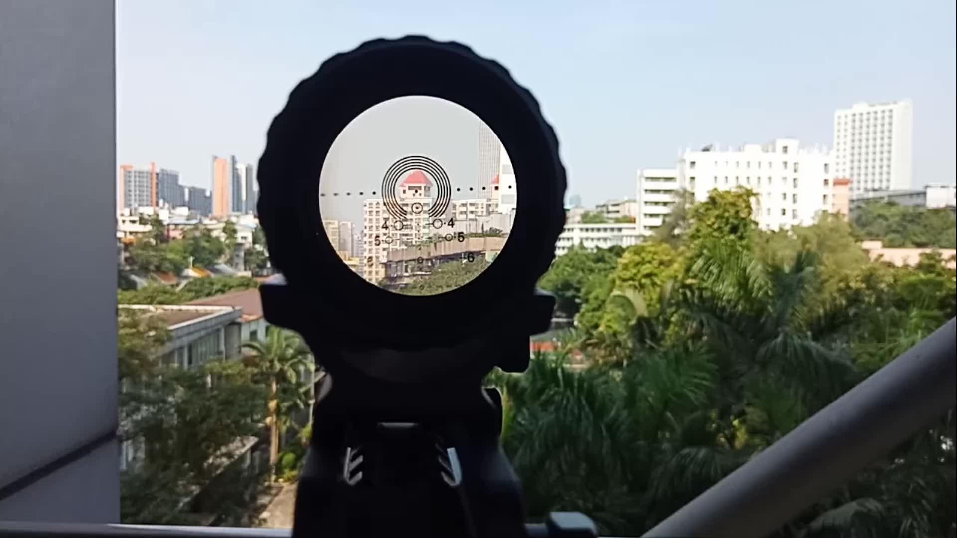 स्पाइना शिकार शूटिंग 1-6X30L ऑप्टिकल दृष्टि P4 ग्लास Etched लजीला व्यक्ति Riflescopes पक्ष समायोजन राइफल गुंजाइश