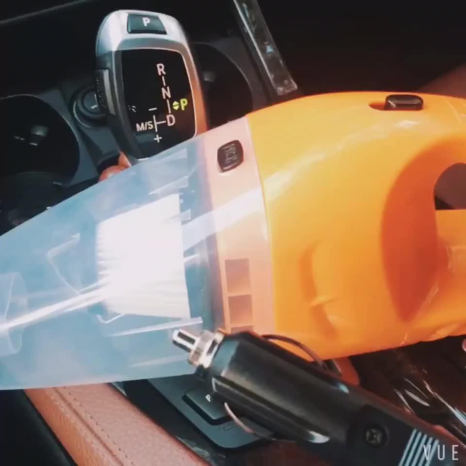 Super Zuigkracht 12V Nat En Droog Dual Gebruik Draagbare Mini Auto Stofzuiger