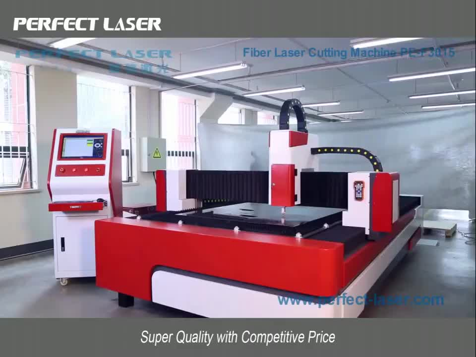 New high quality metal fiber laser cutting machine for carbon steel brass