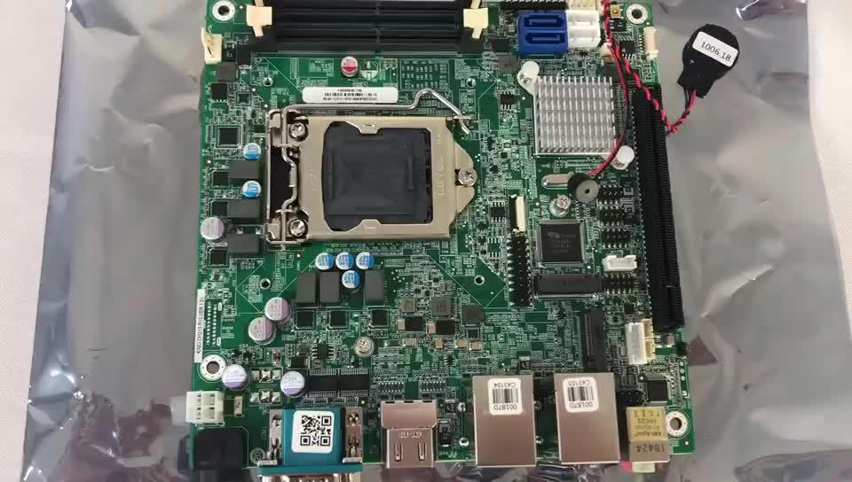 IEI KINO-DH310-R10 Mini-itx LGA1151 intel core i3 x86 מחשב לוח יחיד