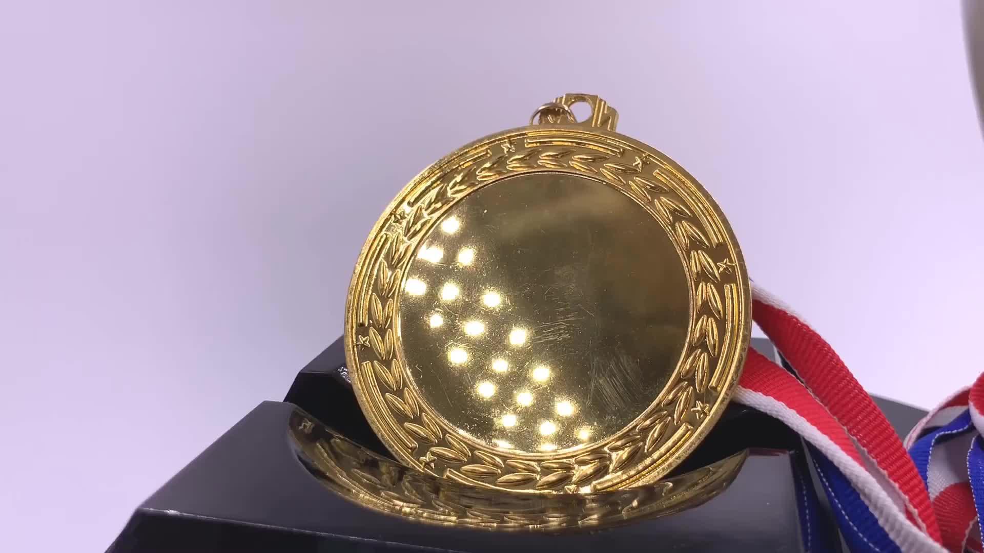 अपने खुद के डिजाइन बनाने पदकों खाली सम्मिलित करें सम्मान की स्टीकर स्वर्ण पदक, पदक कस्टम पदक