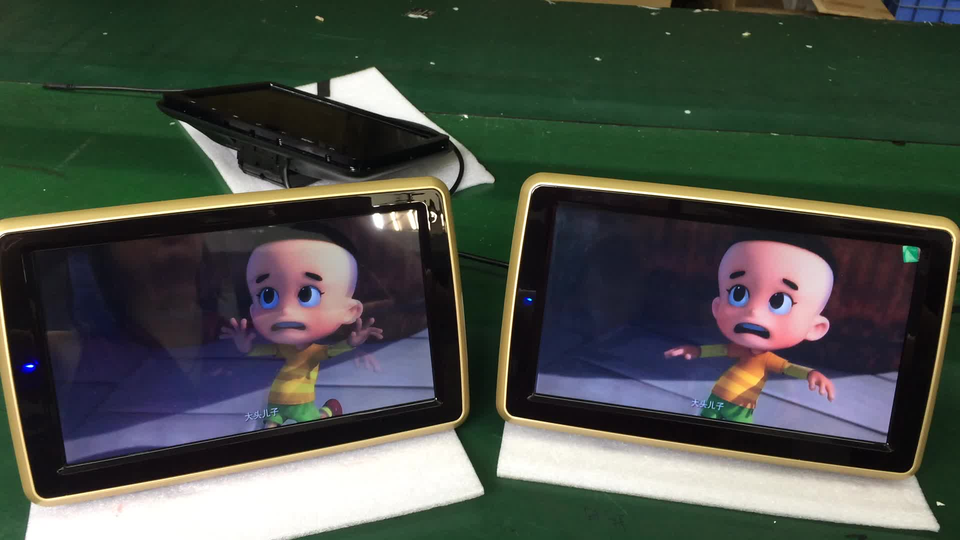 Android 5.1 car headrest Portable dvd digital tv player 1080p game play