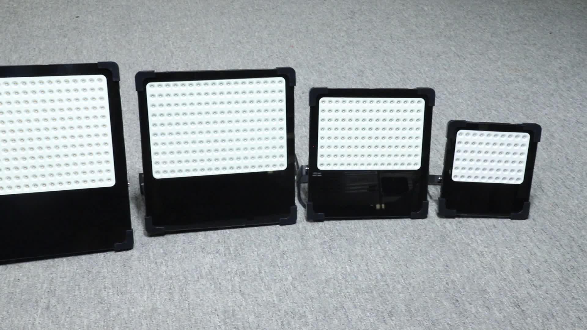 Hohe helligkeit smd wasserdicht ip66 outdoor 50w 100w 150w 200w led flutlicht