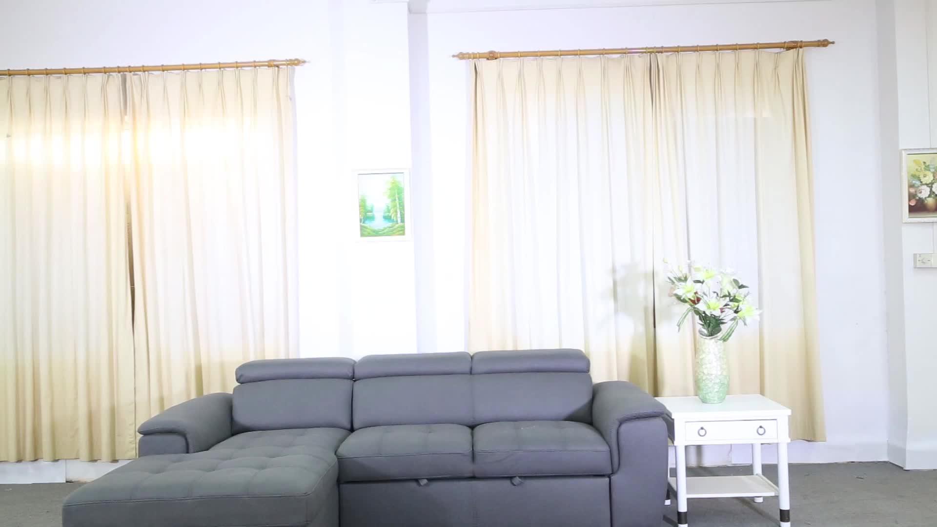 Capri 2 Modern ev mobilyası L şekilli uzanma kanepesi oturma odası için set