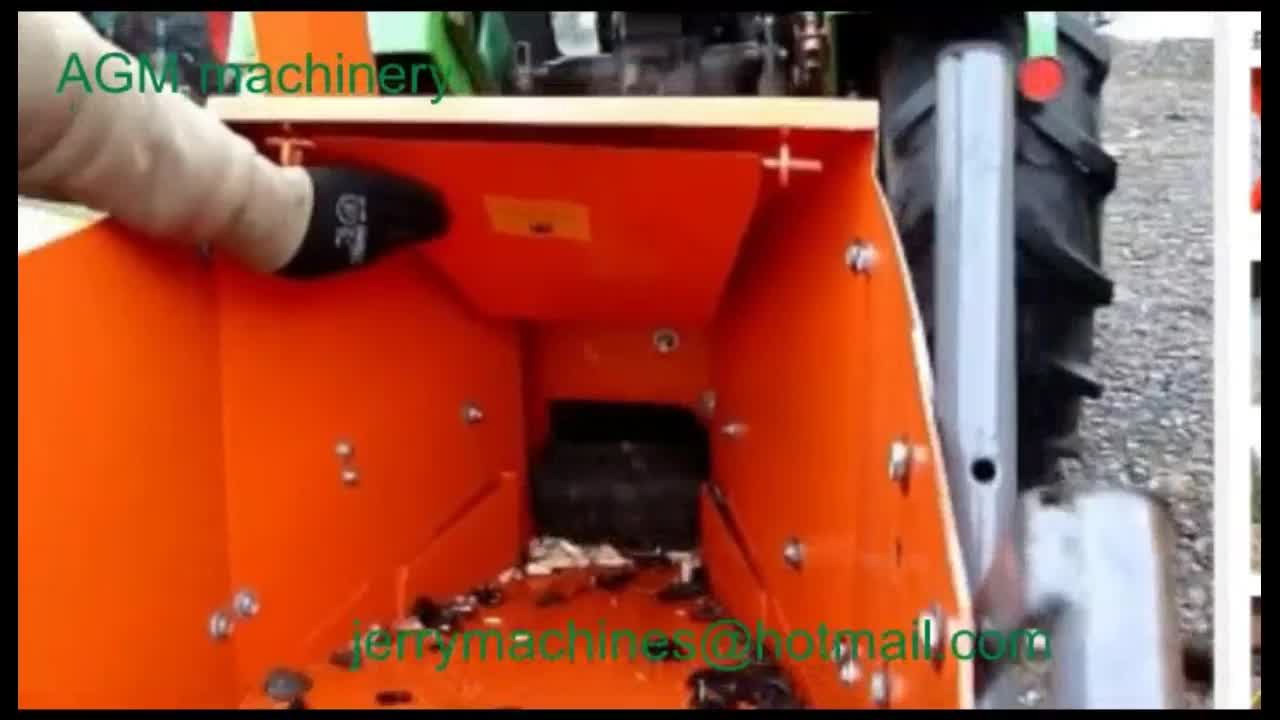 new design top quality tractor PTO drive wood chipper wood shredder model Wc08 with CE TUV GS Certification