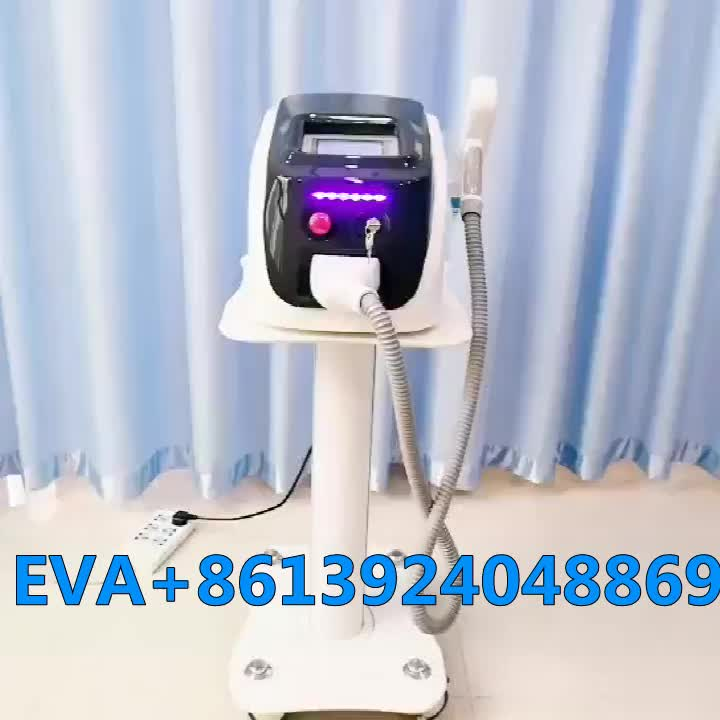 Beauty salon use laser tattoo removal machine for freckles removal carbon peel machine