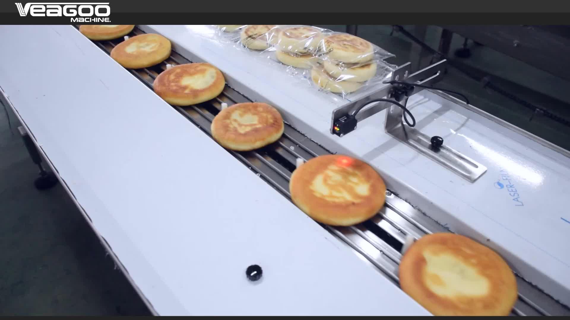Máquina envasadora de pan, para envasadora de bollos y hamburguesas, multifunción, nueva versión