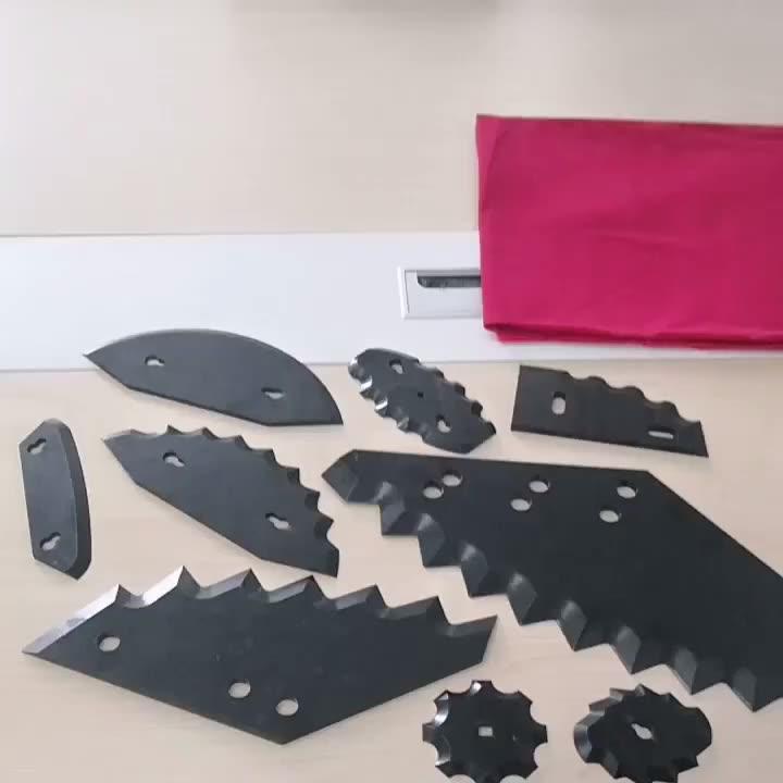Fodder Mixing Machine Blade Stainless Steel TMR Feed Mixer Knife