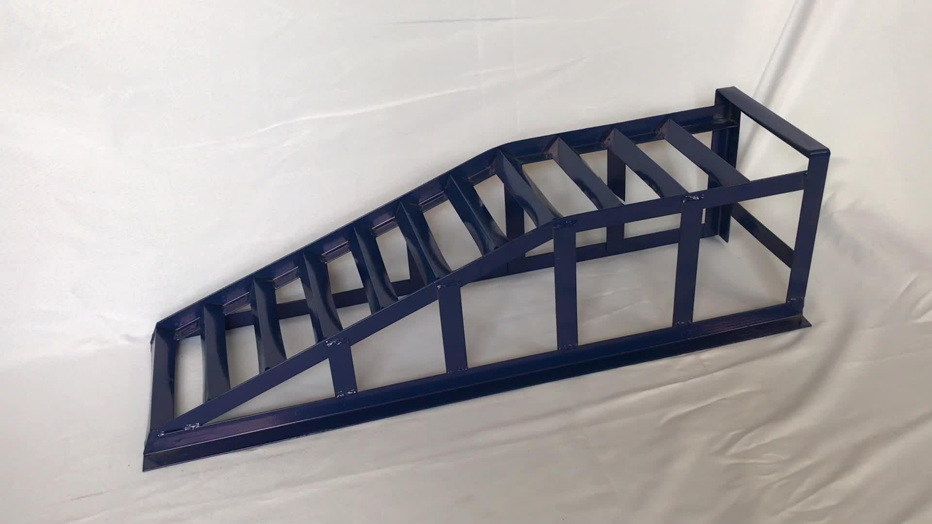 2Ton Robuste En Acier Extra-Large Rampes Élévatrices