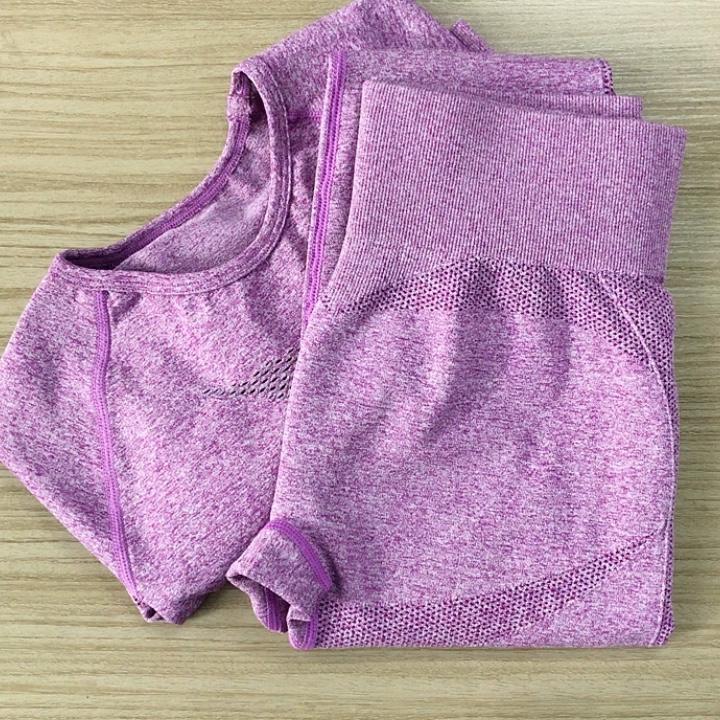 Yoga Kleidung Frauen Hohe Taille Hose Fitness Anzug Nahtlose Sets Frauen Langarm Herbst Winter Outfits