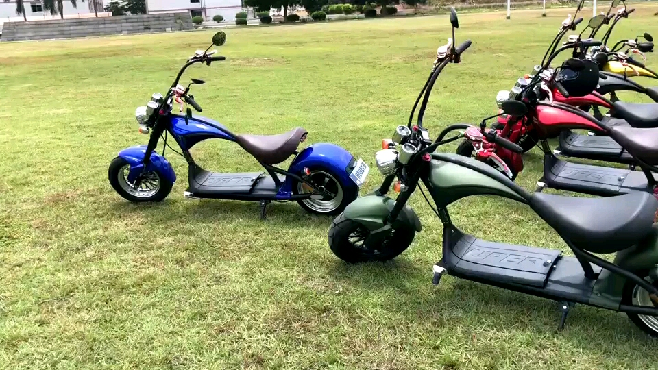 1500w 2000w 3000w 60v removable battery fat tire  citycoco adult electric scooter /electric fat tire scooter street legal