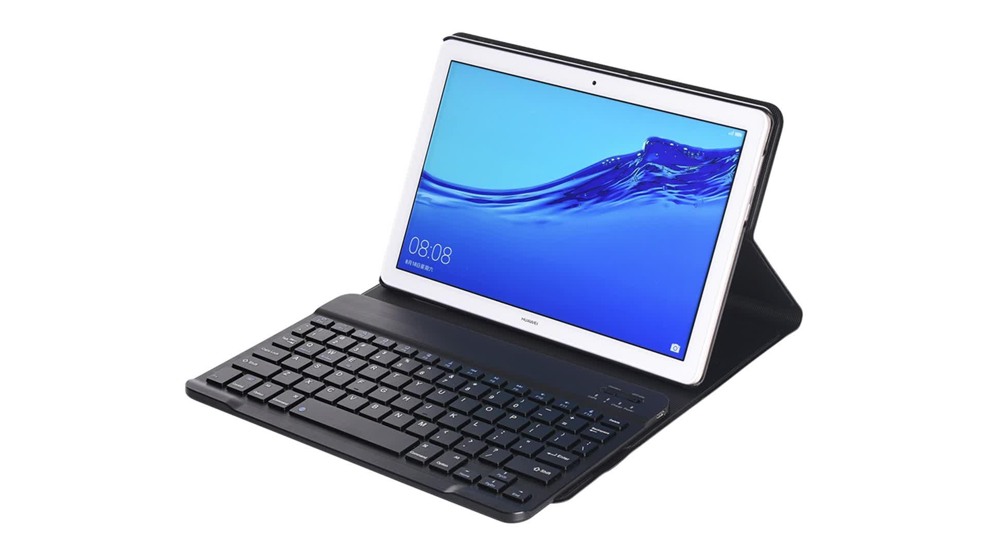 Split Drahtlose Tastatur fall Für Samsung Galaxy S5E T720 T725 10,5 2019