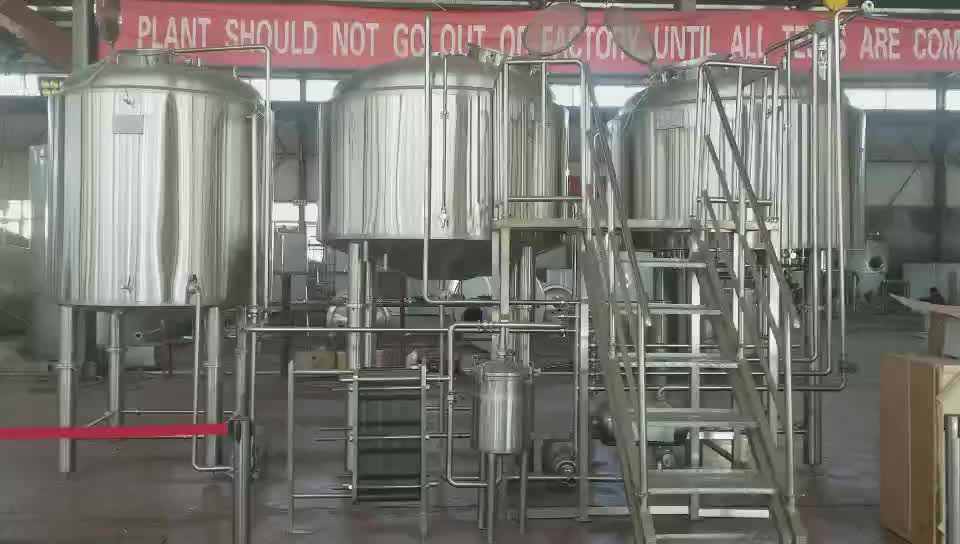 SUS 304 1000 liter micro brewery beer fermenter beer brewing  brewery with ISO/TUV/CE Certificates for sale