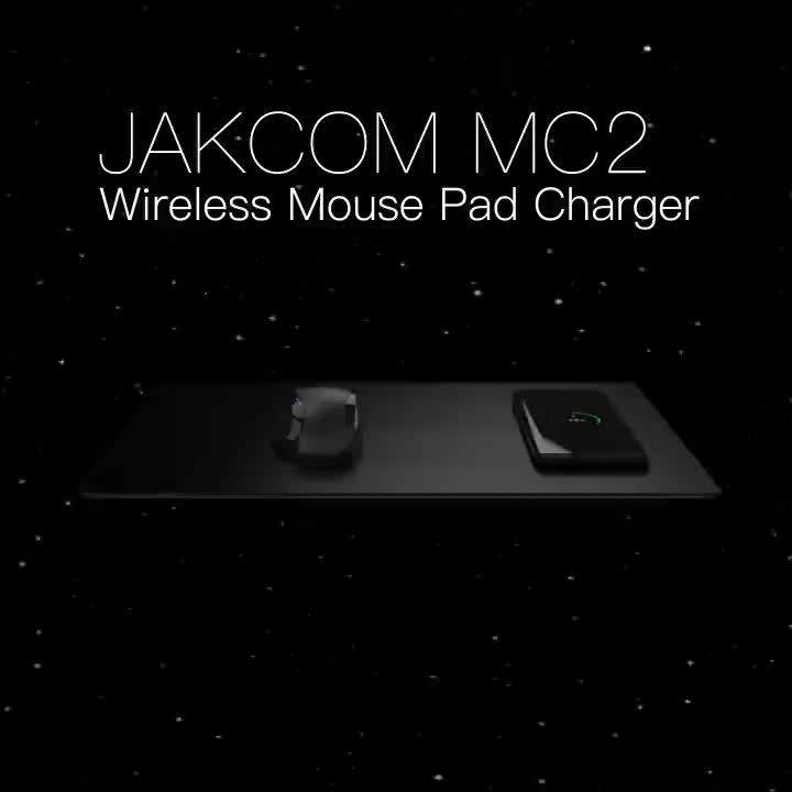 JAKCOM MC2 Wireless Mouse Pad Charger 2019 New Product of Mouse Pads like boxing pads gadgets 2019 free shipping