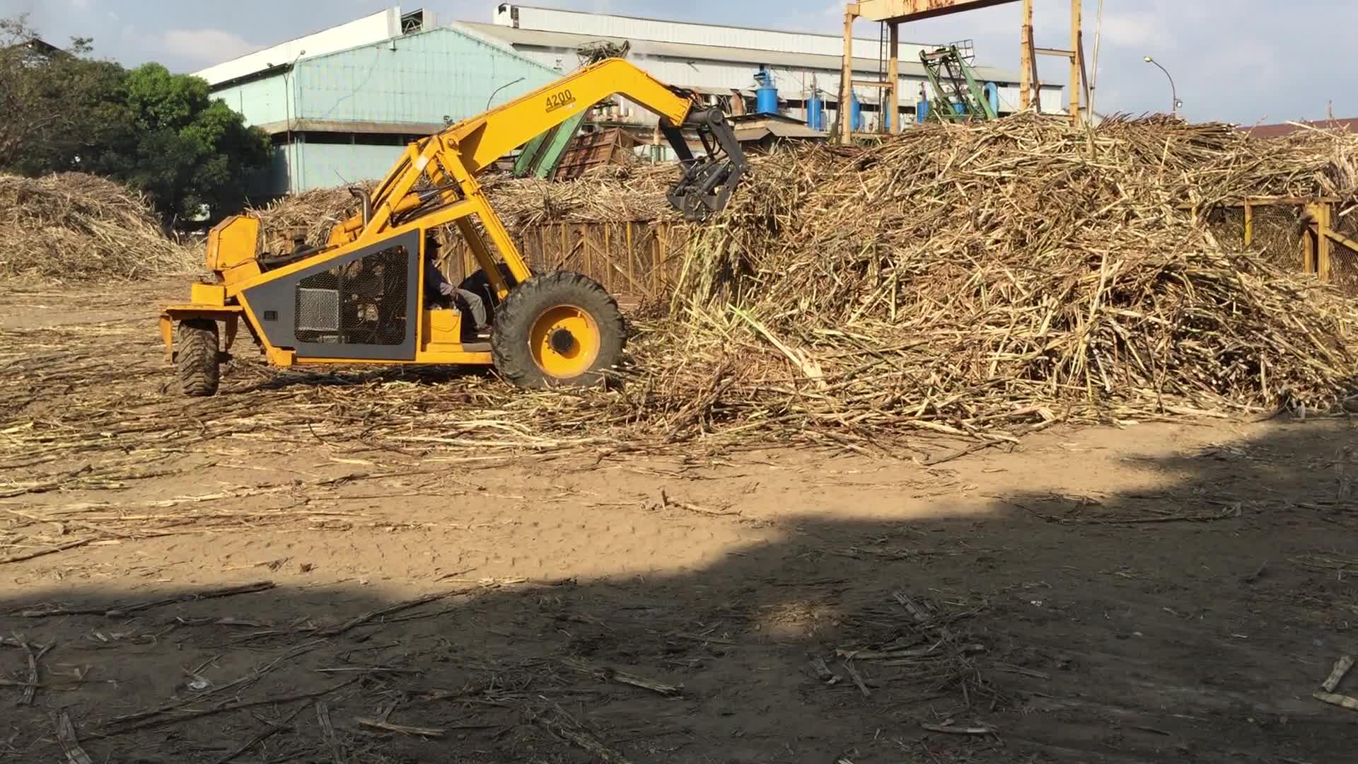 3 wheels cane grab loader made in China
