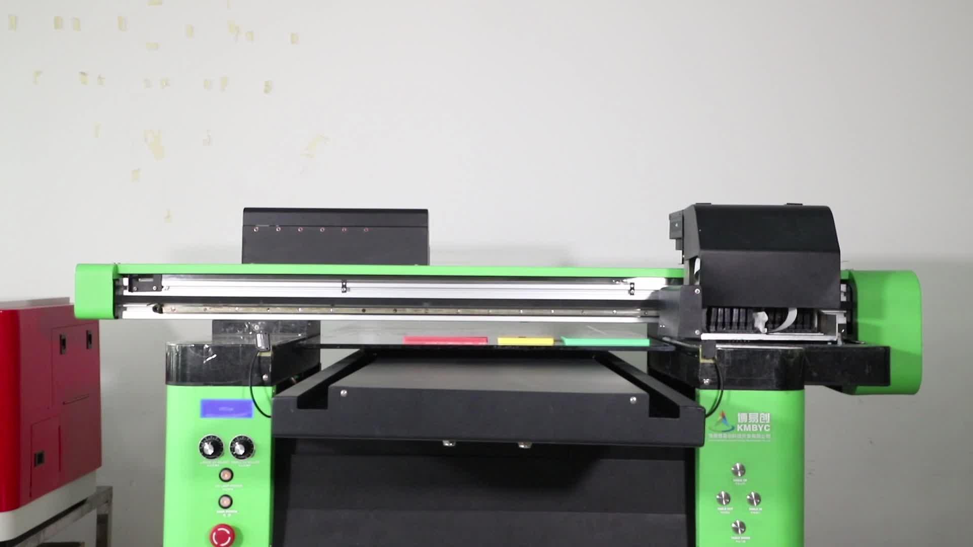 Üretici fotoğraf kitabı BASKI MAKİNESİ A2 dijital Flatbed Uv yazıcı için cam ile büyük fiyat