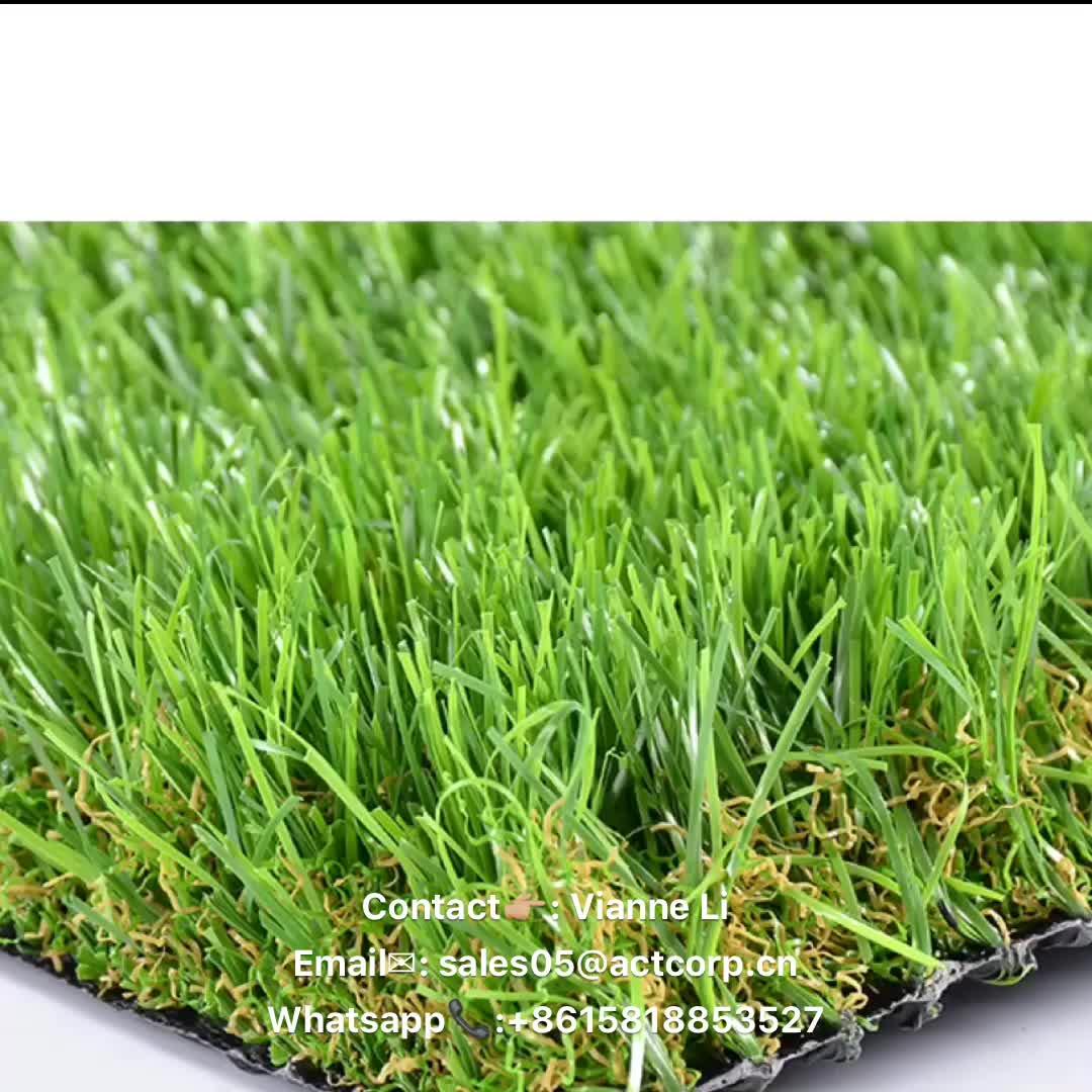 Commerciale in erba Sintetica, erba sintetica per il giardino, giardino erba artificiale