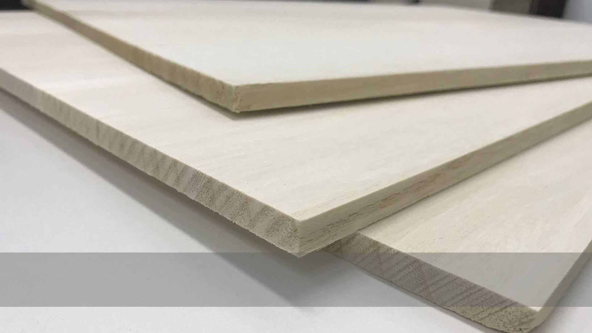 Legno di paulonia prezzo 12 millimetri di legno di paulonia utilizzato per mobili in legno massiccio cassetto