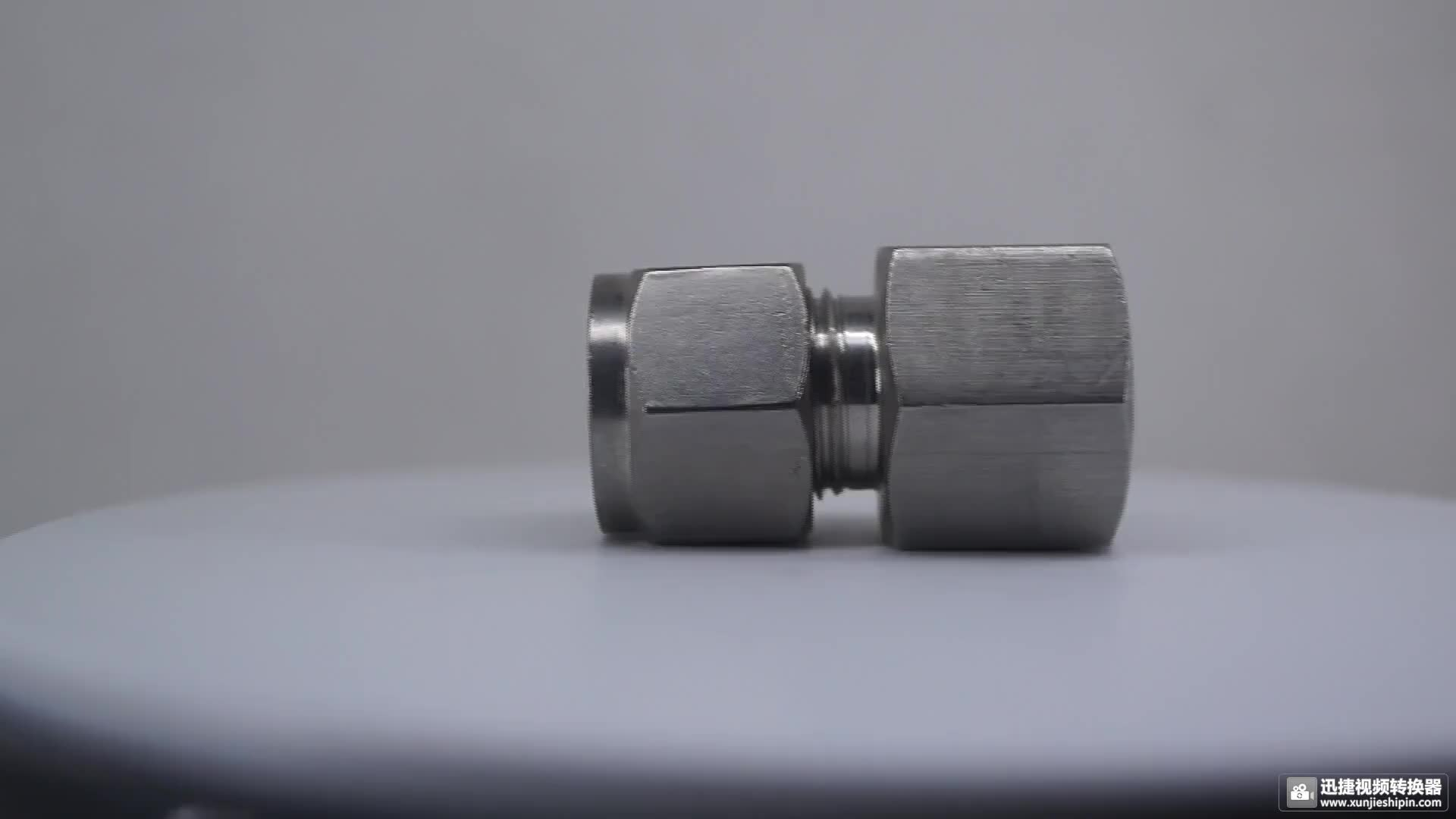 Stainless steel 316 Double ferrules compression high pressure pipe fittings
